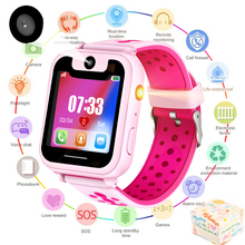 LIGE Children Smart Watch Kids Watches LBS base station positioning anti-lost LED Color Touch Screen SOS Call Baby watch
