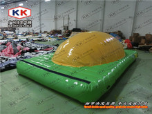 Top Selling Adults Game Inflatable Water Game Splash Bouncing Dome