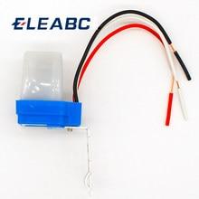 Interruptor automático de luz de rua fotocelular, interruptor de luz de rua dc 220v 50-60hz 10a, controle fotointerruptor interruptor do sensor