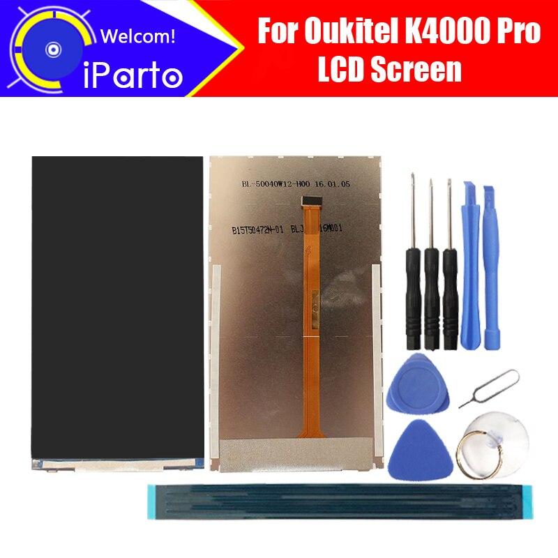 5.0 pouce Oukitel K4000 Pro LCD Écran D'affichage 100% D'origine Testé Top Qualité LCD de Remplacement D'affichage Pour K4000 Pro + outils