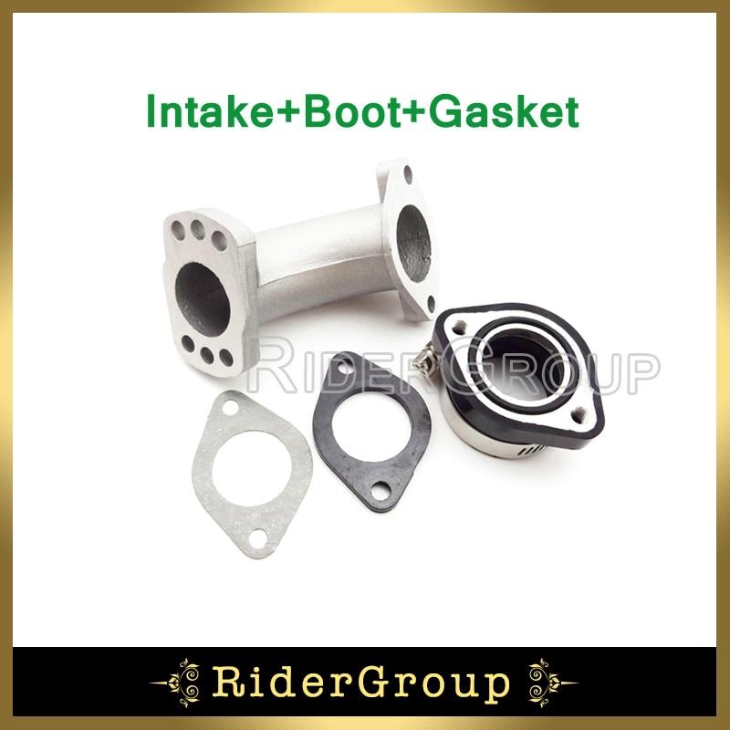 Carburetor Flange Intake Mainfold Adapter Boot Pipe Gasket For 150cc 160cc 200cc 250cc Engine Pit Dirt Motor Bike CRF KLX TTR