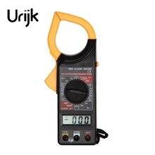 Urijk 1000V 1000A 20kOhm Clamp Meter Digital Multimeter Handheld Pocket Mini Ammeter Voltmeter Ohmmeter Electrical Measuring 266