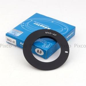 Image 2 - Pixco M42 AF ยืนยันอะแดปเตอร์เลนส์ชุดสำหรับ M42 เลนส์ sony alpha minolta MA กล้อง A77II A58 A99 A65 A57 a77 A900 A55 A35