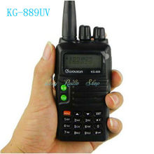 walkie talkie transceiver WOUXUN KG-889UV handheld cb radio Comunicador KG 889UV FM two way radio 5W 1300mAh Li-ion battery 199
