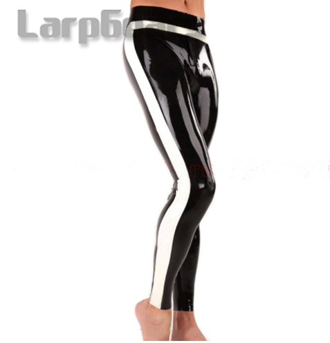 latex Jeans without