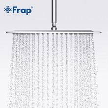 Frap-Cabezal de ducha cuadrado de acero inoxidable, grifo de ducha de lluvia, F28-3 superior, 300x300mm, novedad