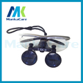 Manka Care - 2.5X time Dental Surgical Binocular Loupes Magnifier Glasses 100% original surgical optical glass Silver color