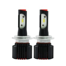 2x H7 LED Car Headlight Bulbs 50W 6500K Pure White 8000LM High Brightness Automobile Low Beam Headlamps Fog Lamps