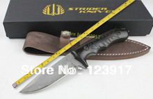 100% New Damascus Steel Blade Ebony Handle EDC Camping Knife,Utility Outdoor Knives Hunting Tools Best Quality