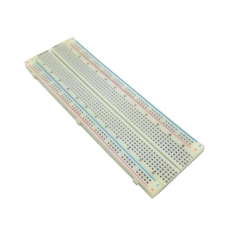 NEW MB-102 MB102 Breadboard 830Point Solderless PCB Bread Board Test Develop DIY