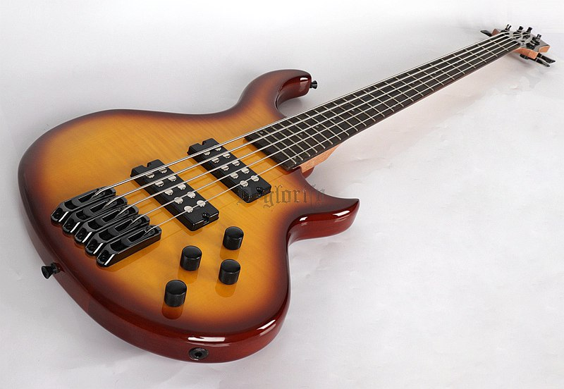 high quality 5 string bass guitar in guitar from sports entertainment on. Black Bedroom Furniture Sets. Home Design Ideas