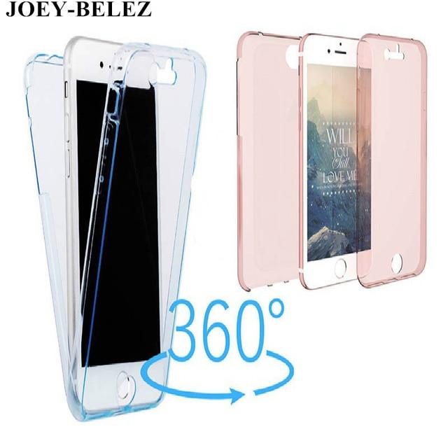 los angeles bf036 72d79 US $1.34 16% OFF|360 Full Body Cover TPU Case For LG G4 stylus /K8 2017/V3  / K10 2017 Soft Slim Clear case for LG K10 for LG G5 G4 G3 Phone case-in ...