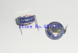 10pcs 5.5V 0.33F H Type 0.33F 5.5V Supercapacitor Farad Capacitor New