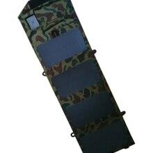 GGX ENERJI Buzlu Su Geçirmez 8 Watt 5 V Katlanır Güneş Paneli Şarj USB Denetleyicisi Şarj iphone Samsung Telefonlar PSP MP4