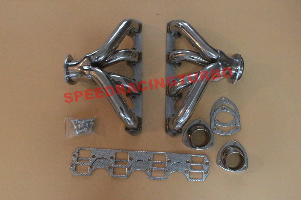 PARA FIT BIG BLOCK ENCABEZADOR DE ESCAPE BBC PARA FIT CADILLAC FIT V8 - Autopartes