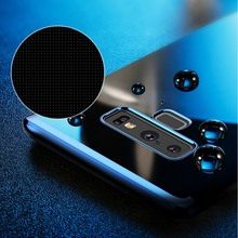 BASEUS Brand For Samsung Galaxy Note 9 Case Transparent Electroplating Edge Soft TPU Back Phone Cover