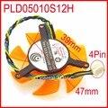 Alimentación Lógica PLD05010S12H 12 V 0.20A 47mm 39x39x39mm 4Pin Para Enfriamiento Tarjeta Gráfica ZOTAC ventilador