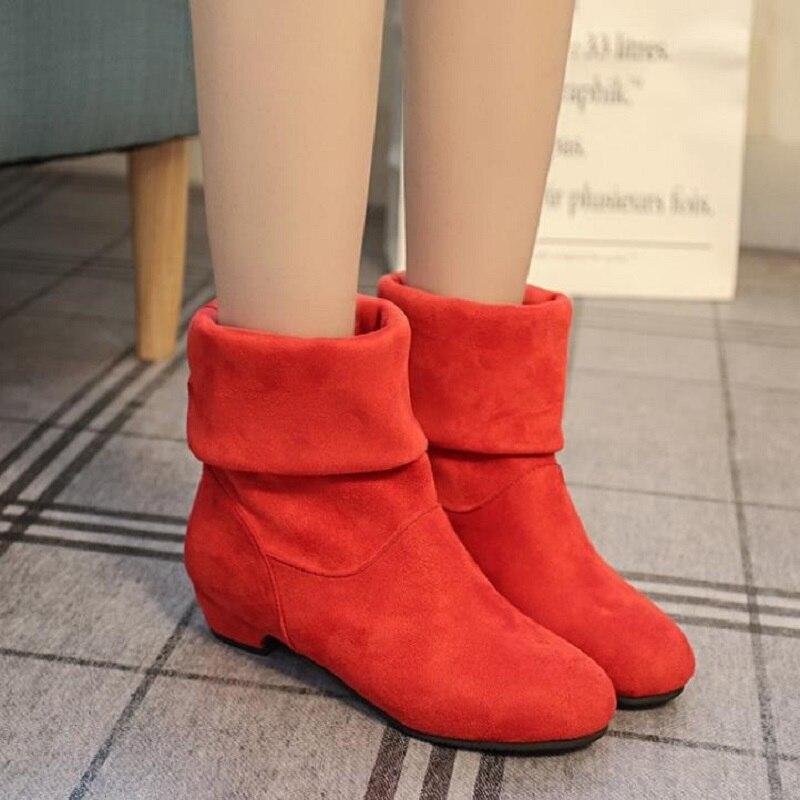 2018 Новый DIXINYILI Женские ботинки Повседневное плоские ботинки, удобные школьница сапоги, 0050285
