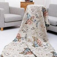 Европейский стиль точность жаккардовая ткань для подушки диван стул квилтинг Вышивание лоскутное нежный Обивка ткани 140 см Ширина