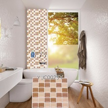 3D wall stickers smooth decoration, living room kitchen brick wallpapers Fengshui decor 133mmx133mm