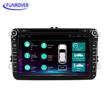 Android 5.1 car stereo radio for vw passat golf 5 b6 Quad Core 8 inch 1024*600 car DVD GPS navigation OBD DVR include can bus FM