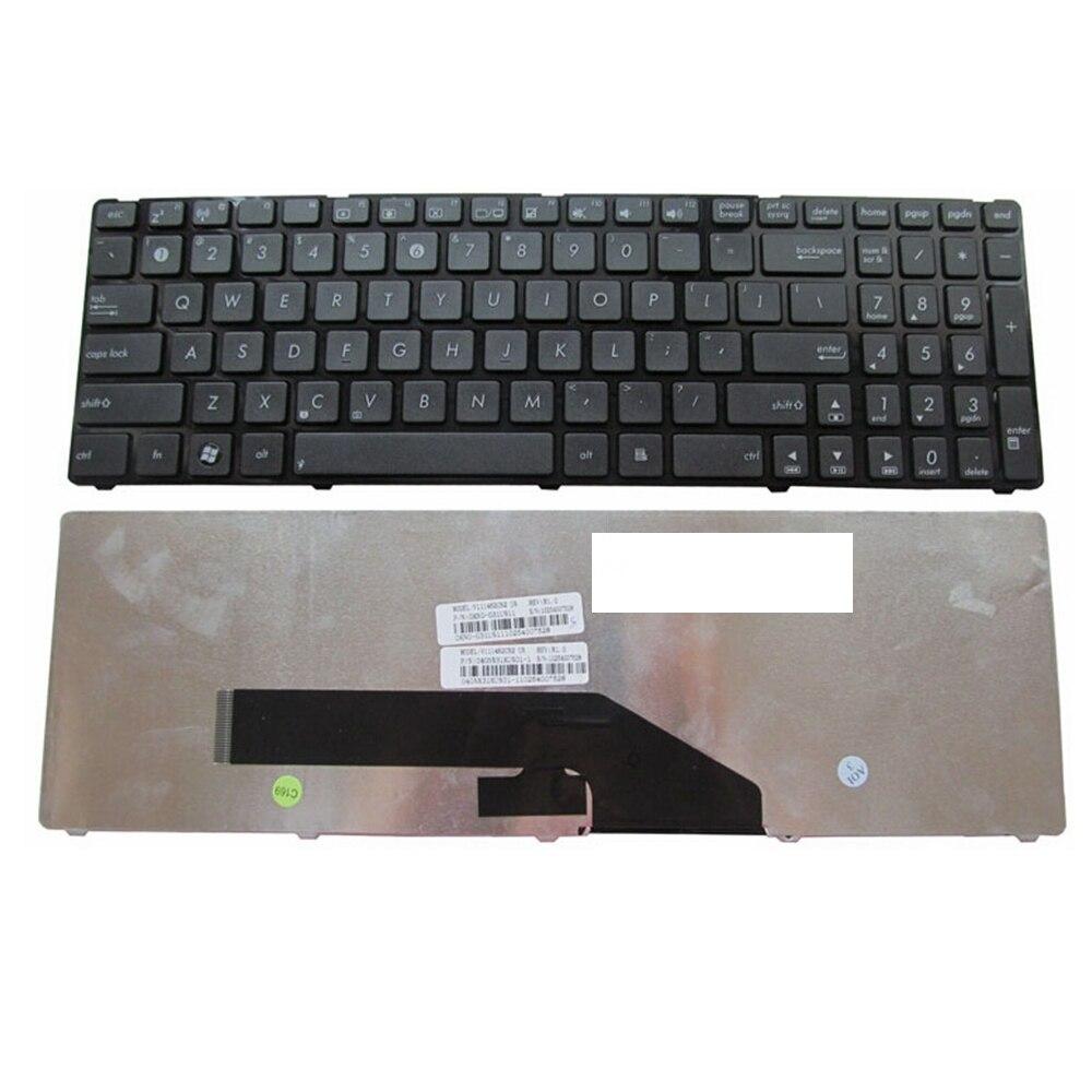 Nous pour ASUS K50 K50IN K61 K50X K50A K50AB K50IJ K50ID remplacer clavier dordinateur portable noir nouveau anglaisNous pour ASUS K50 K50IN K61 K50X K50A K50AB K50IJ K50ID remplacer clavier dordinateur portable noir nouveau anglais