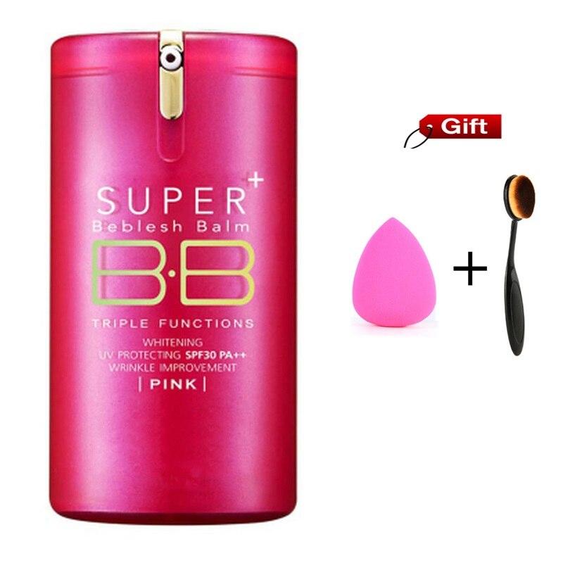 Heißer Gold Rosa Fässer Super + Beblesh Balm BB Creme koreanische die poren professionelle primer Concealer foundation sonnencreme SPF30 PA + +