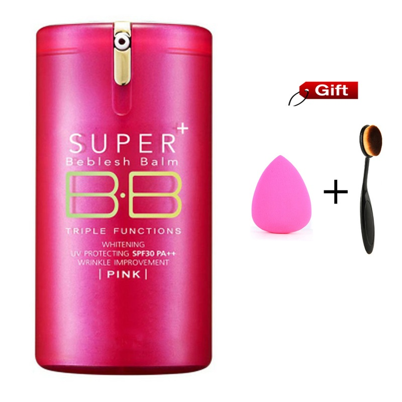 Hot Gold Pink Barrels Super+ Beblesh Balm BB Cream korean the pore professional primer Concealer foundation sunscreen SPF30 PA++ the yeon pore blemish bb page 3