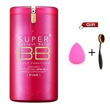 Hot Gold Pink Barrels Super+ Beblesh Balm BB Cream korean the pore professional primer Concealer foundation sunscreen SPF30 PA++