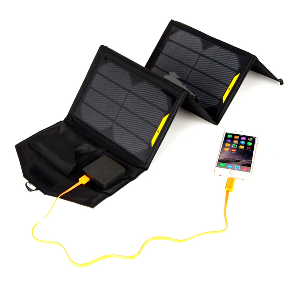 Portable folding 5V 15W double USB port solar charger mobile phone power MP3 MP4 GPS Camera Game solar panels Outdoor Charging цена и фото
