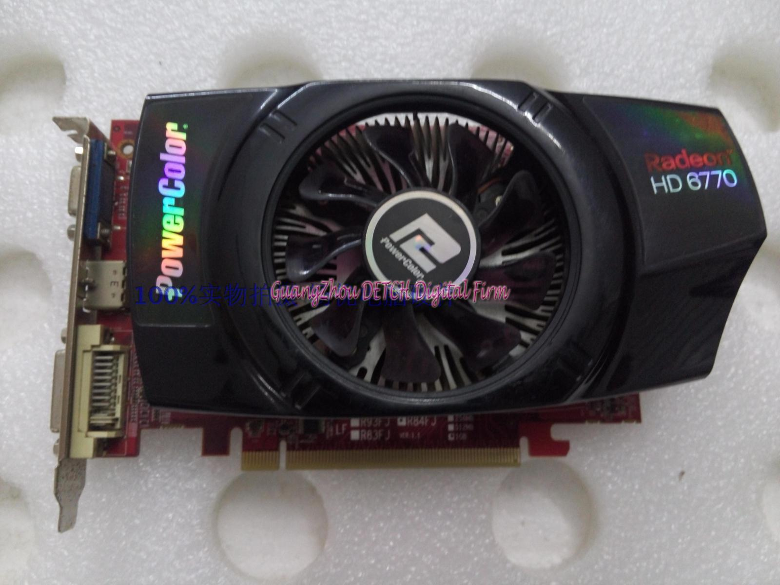 HD6770 D5 1G constant gold used second-generation game graphics