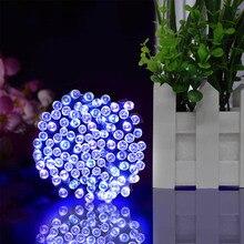 Luces de hadas alimentadas por energía Solar, 22M, guirnalda de calle navideña, tira de luces Led para exteriores, resistentes al agua, para lámpara de jardín y boda