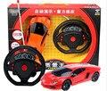 Модель автомобиля мини руль Тяжести зондирования Дистанционного управления автомобилей 4 канала игрушечный автомобиль модель