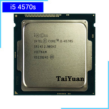 Intel Core i5 4570S i5 4570s 2.9 GHz Quad Core Quad חוט מעבד מעבד 6M 65W LGA 1150
