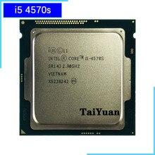 Процессор Intel Core i5 4570s 2,9 ГГц, четырехъядерный процессор с четырехъядерным процессором 6M 65W LGA 1150