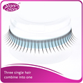 High Quality Silk False Eyelash Dream Tassel tapered eye lash 3 into 1 Tapered Charming eyelashes make up tools