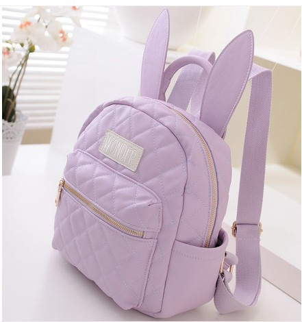869ae8df57ba Harajuku soft ice cream soft rabbit ears mini backpack small bag backpack-in  Backpacks from Luggage   Bags on Aliexpress.com