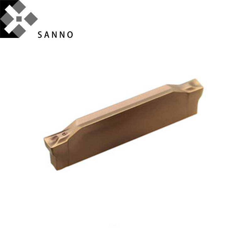 GBJ CNC Lather Cutting and grooving carbide Inserts Double-head cutting blade N123G2-0300-0004 N123G2-0300-0004-TM2135