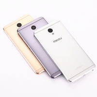 Meizu M5 Note Official Original Metal Case For Meizu M5 Note Back Battery Cover Housing Replacement