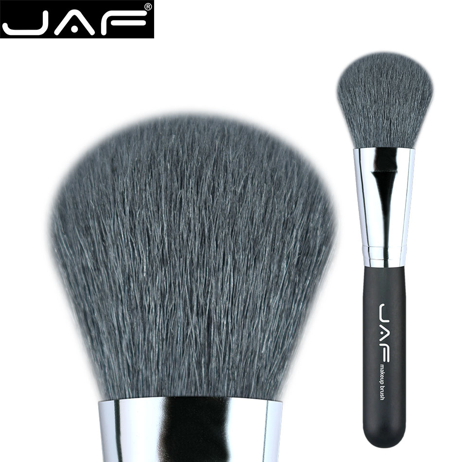 Brush For Powder Goat Hair makeup Brush Face Powder contour naked foundation Makeup brush cosmetic tools new design stamp seal shape face makeup brush foundation powder blush contour brush cosmetic facial brush cosmetic makeup tool