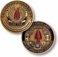 Comando de Operações Especiais Do Exército DOS EUA Challenge Coin Desafio Militar Coin Coleção Presente Do Negócio