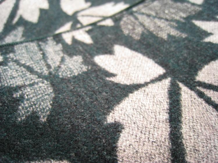 Maple Leaf Blue Winter Scarf | Men's Scarves | Up to 60% Off Now