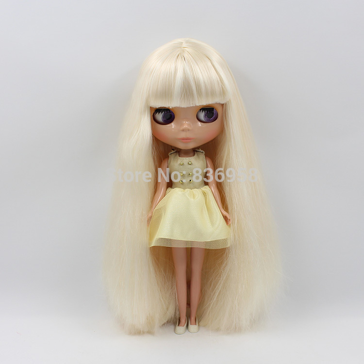 Nude Doll For Series No.0510 GOLDEN HAIR with bangs