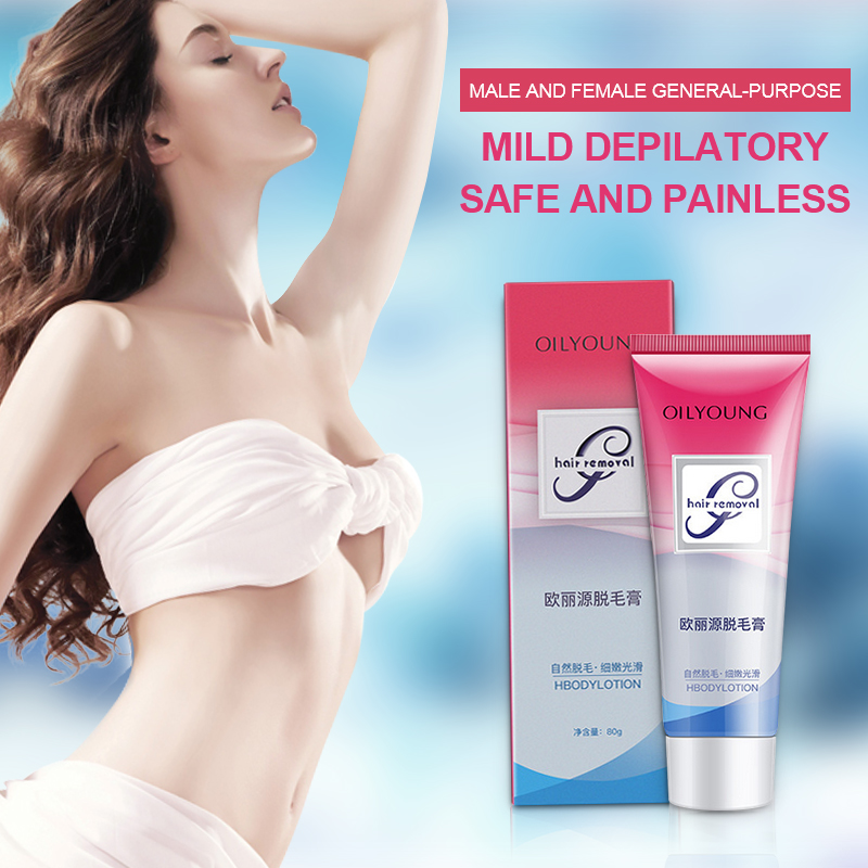 Oilyoung Lotion Depilatory Cream Paste Hair Removal Body Leg Arm