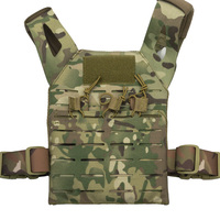 Mini Tactical Molle Jump Plate Carrier JPC Vest For Kids Children Outdoor Activity Protective Vest(STG051220)
