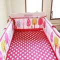 9 styles Cartoon baby bumper 100% cotton baby bedding crib bumper around baby Cot protetor de berco de bebe baby bed guard fence