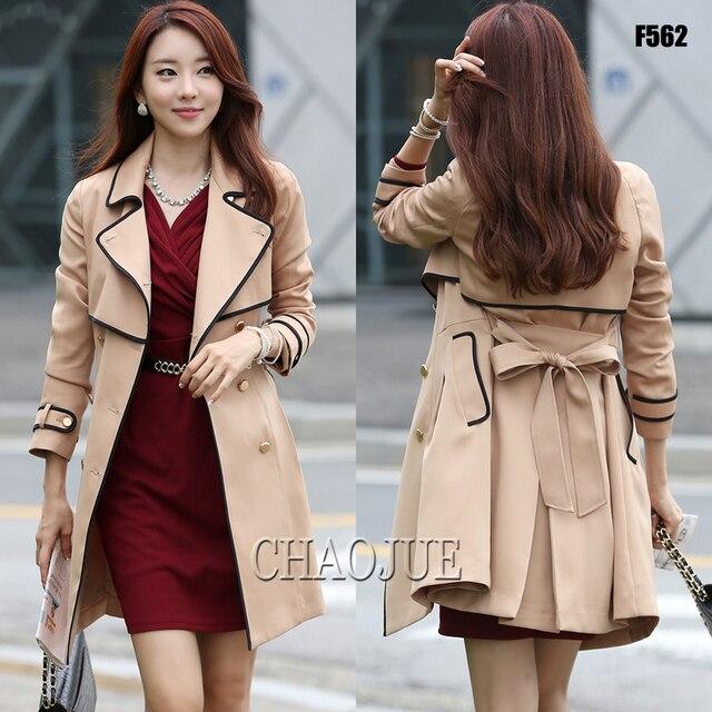 2016 весной и осенью мода бежевый плюс размер элегантные дамы горох пальто великобритания slim fit черный пиджак для женщин 4XL лоскутное горох пальто