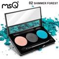 Msq profesional 3 colores mate paleta de sombra de ojos cosméticos de maquillaje paleta de belleza moda 6 paleta puede elegir