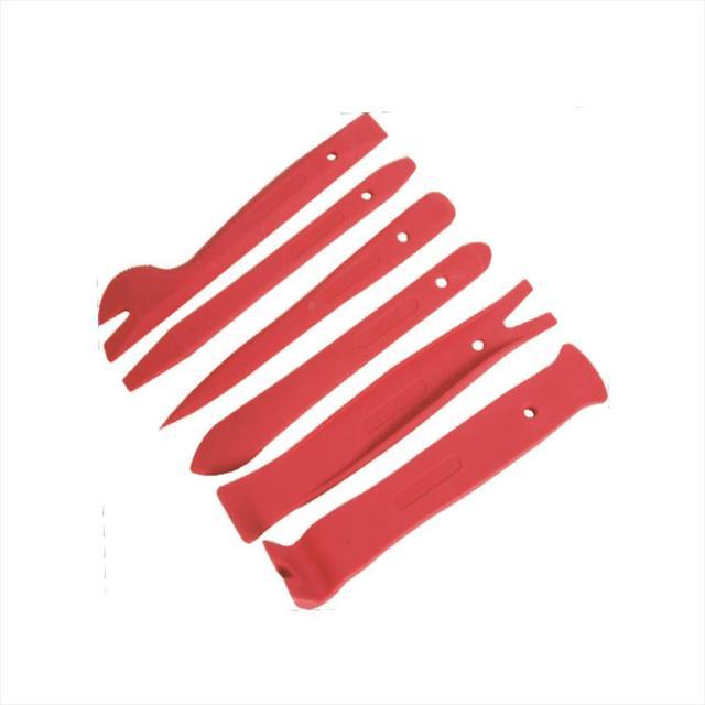 Новый 6 Шт. Двери Автомобиля Даш Удаления Установщик Прай Набор Инструментов для Снятия Обшивки