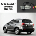 Auto Car Parking Camera / Reverse Camera For KIA Sorento R / Sorento MX 2010~2015 / Rear View Camera / License Plate Lamp OEM